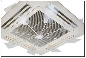 ㈱キングジム_ハイブリッド・ファン取り付けによる室内温度ムラの改善