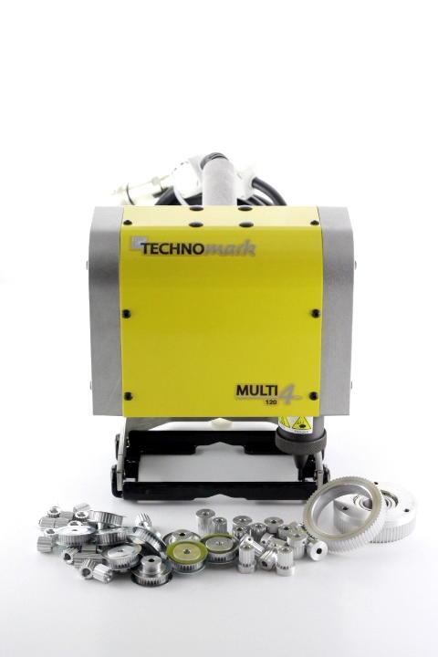 テクノマーク自動刻印機での打刻時間の短縮・怪我の防止