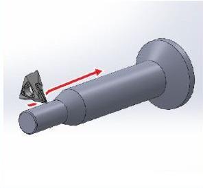 スイス型CNC自動旋盤による 切込み最大「5.0mm」一発加工